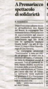 Fonte: Messaggero Veneto, sabato 9 marzo 2013